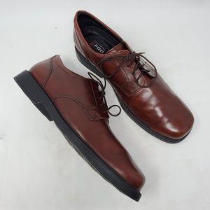 Bostonian Brown Leather Oxfords 13 Medium
